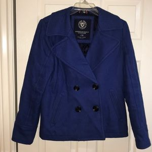 American Eagle Outfitters Jackets & Coats - AE peacoat
